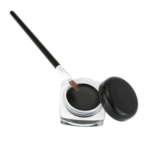 Eye Makeup Kit Waterproof Eyeliner + Eyeliner Brush Long Lasting Cosmetic Charming Eye Makeup