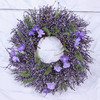 2017 mini artificial michaels cheap fabric rose flower/leaf wreath