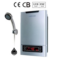 CE household electric instant geyser water heater 11kw