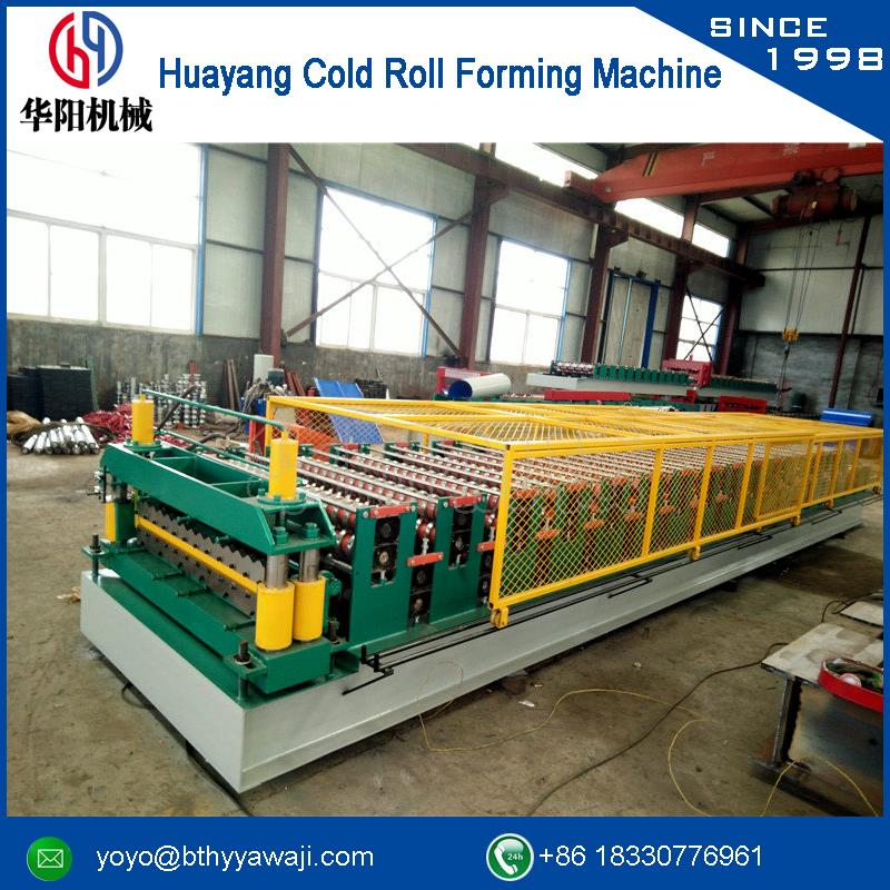 Warranty Double Layer Roll Forming Making Machine with CE certificate