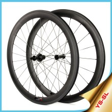 2015 YISHUN Road Bike Pro Flat/Racing/CX/Triathlon Wheels Chosen Hub Carbon 50mm Clincher Bicycle Wheel SL50C
