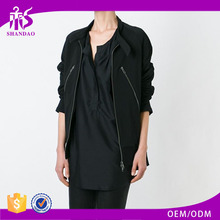 Shandao OEM beautiful design women long sleeve black german winter coat brands