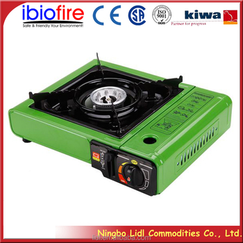 Portable gas stove for camping