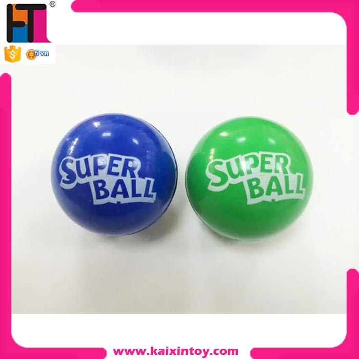 customized rubber bouncy ball with logo