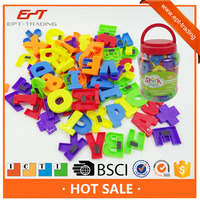 Kids educational magnetic teaching number alphabet letter toys