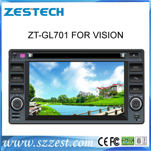 ZESTECH in dash 2 din touch screen dvd car head unit for Gelly vision car dvd cd player sat nav gps