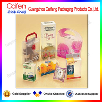 Different Types Gift Pvc Electronic Packaging