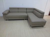 WK-F2014 comfortable l shape leather corner sofa