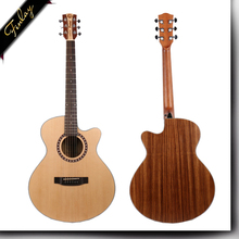 FM-145C 40 Inch Spruce And Zebrawood Matt Madgun Acoustic Guitar For Sale