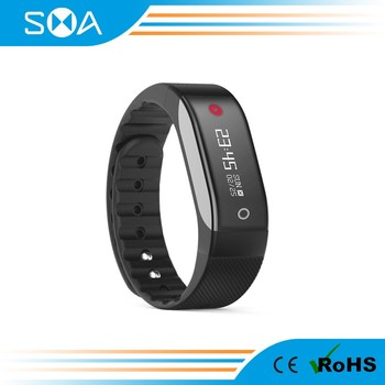 SMA Coach heart rate sensor wristband bracelet with Nordic nRF51822 chip