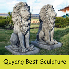 large size outdoor antique marble lion statues sculpture for sale