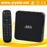 Latest M8 Amlogic S802 Quad Core Android 4.4 Smart TV Box XBMC Media Player 4K Miracast S802 XBMC 3D Blu-ray 4K Wifi player