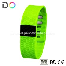 Innovative!!! Basic OLED display call vibrating remind smart wrist watch pedometer for kids