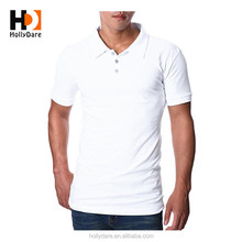 Personal Customized Breathable Leisure Organic Cotton 100% Polo T-Shirt
