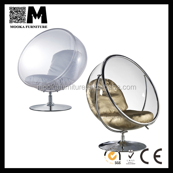 mkp19b hot sale cheap bubble chair with stand garden swing chair