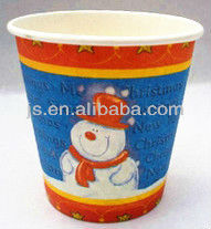 9oz paper cup for christmas/paper hot cup/cute paper cup
