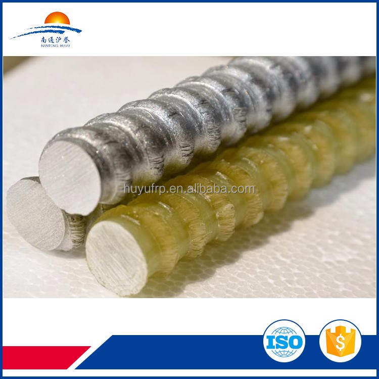 fiberglass reinforced plastic product for concrete reinforcing