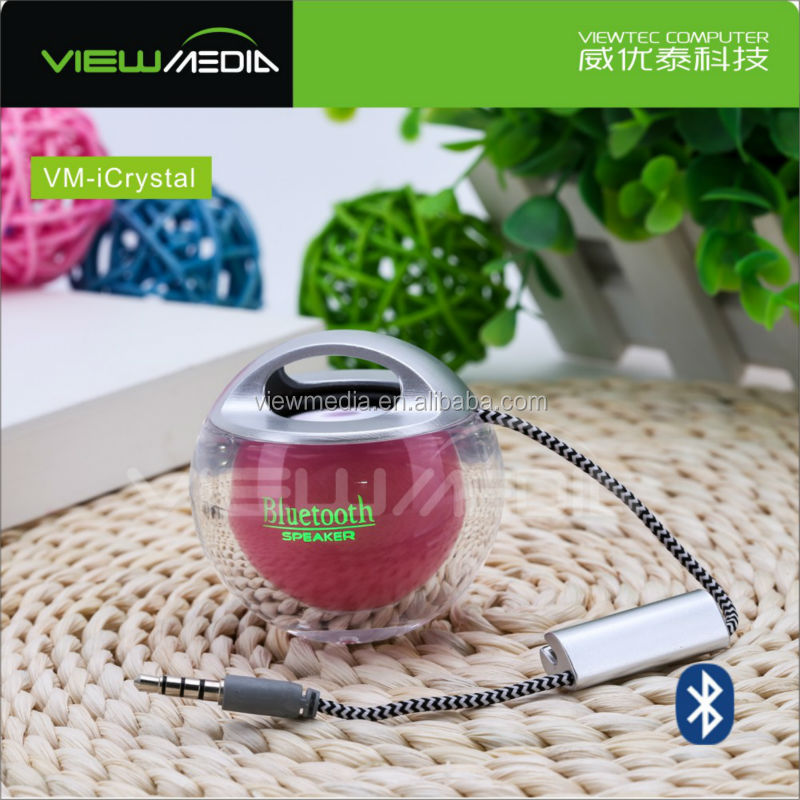 2016 viewmedia gadget Speaker Gift for yound People VM-iCrystal