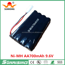 9.6V AA size battery pack/Ni-MH 8*AA rechargeable bateria
