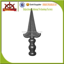 Ornamental Iron Pieces Cast Spear For Gate
