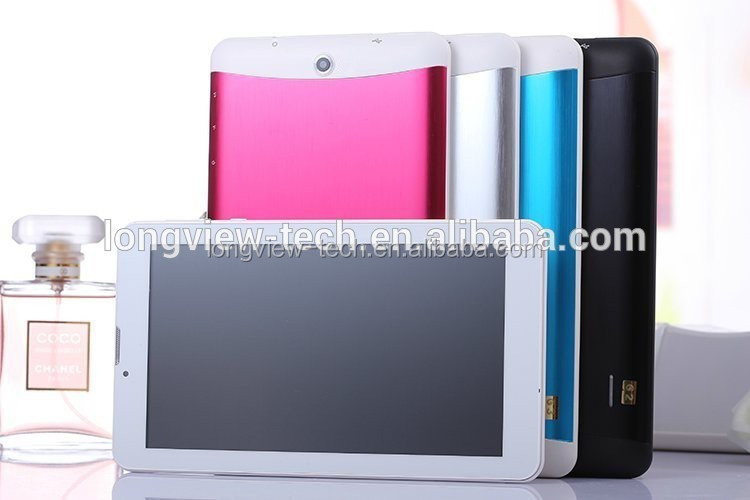 Cheap MTK6572 tablet 3g 7inch dual core mid metal case with leather cover 1G/8G wifi FM GPS BT 0.3M/2.0 camera