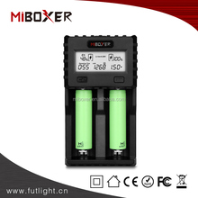2 slots battery charger for 18650 / IMR / INR/ICR / Ni-MH / Ni-Cd