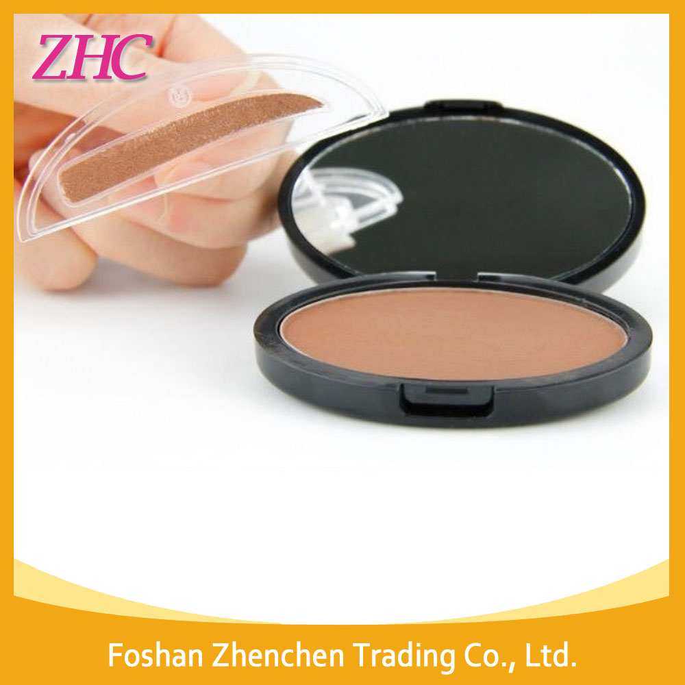 Hot Sale Waterproof 6 Colors Eyebrow Powder With Stamp Seal