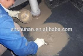 Cement-based infiltration crystalline waterproof slurry