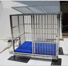 Custom Pet Transport Carrier Stainless Steel Aluminum Animal Dog Cage