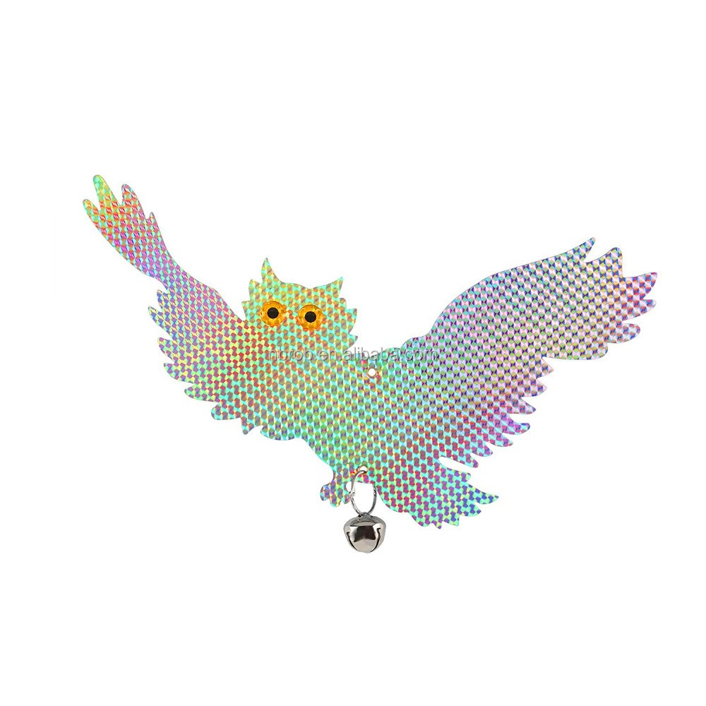 Reflective Hanging Flying Owl --Pest Repellent
