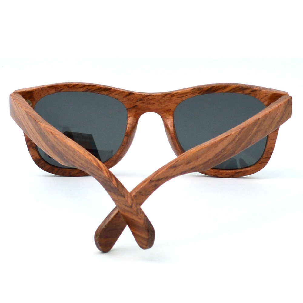 2017 China manufacture handmade custom wood sunglasses
