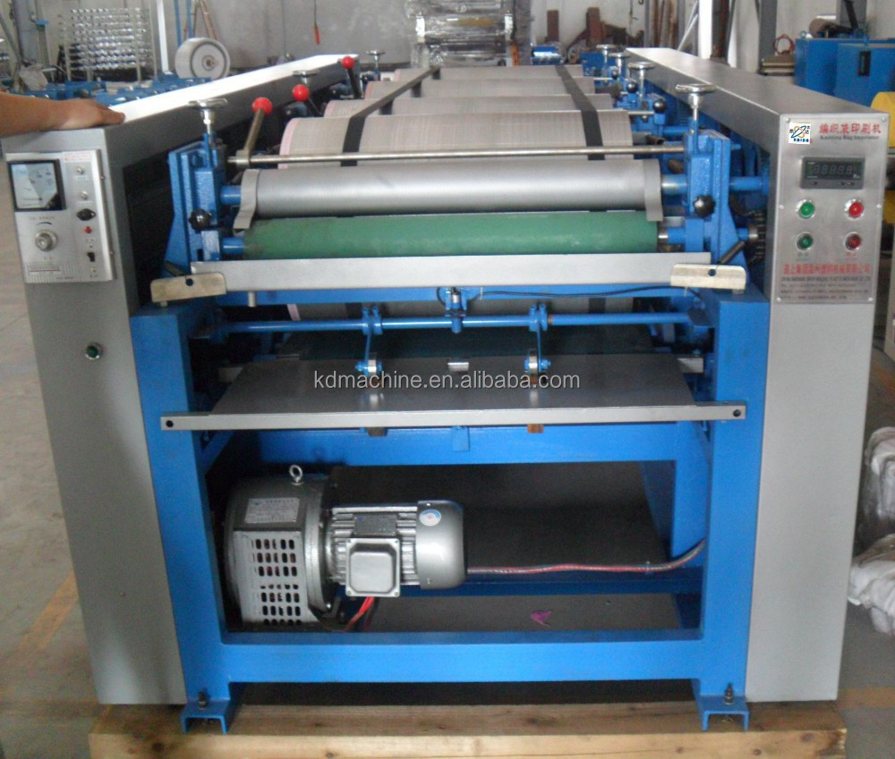 Offset Printing Machine DS-800VII Six Color PP Non Woven Bag Each by Each Bag Printing Machine