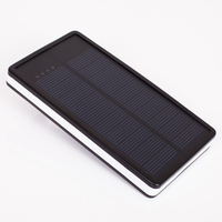 Sinobangoo factory Cheap price 10000mah highlight solar power bank with high quality solar panel charger
