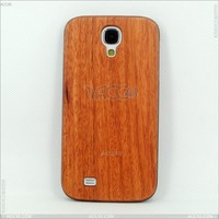 Protective Wood+Plastic Hard Wood Case for Samsung Galaxy S4 i9500, Hybrid PU+Wood Case for Sumsung Galaxy S4