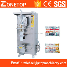 Guangdong Auto Vertical Multi-Function plastic sachet pouch bag liquid filling machine packing machine