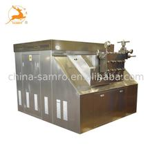 China industrial juice homogenizer / high pressure dairy homogenizer machine