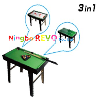 Tabletop Pool Table 3 in 1