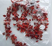 Christmas decoration- artificial plastic plant