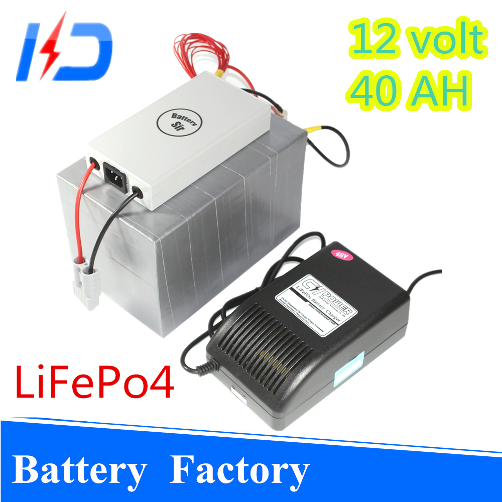 New Arrival lifepo4 12v 40ah battery for solar systems street lamp electric motor