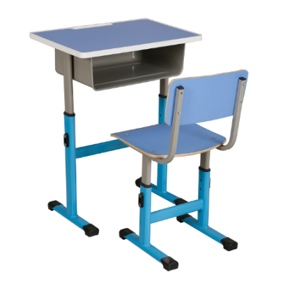 Classroom Chair and desk,school furniture student single table and seat