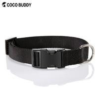 Best selling low MOQ Plain nylon dog collar and leash wholesale