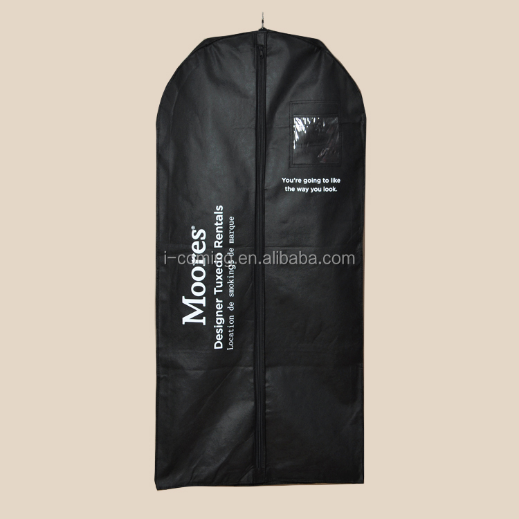Alibaba cloth garment bag wholesale, cloth garment bags wholesale, black nonwoven garment bags
