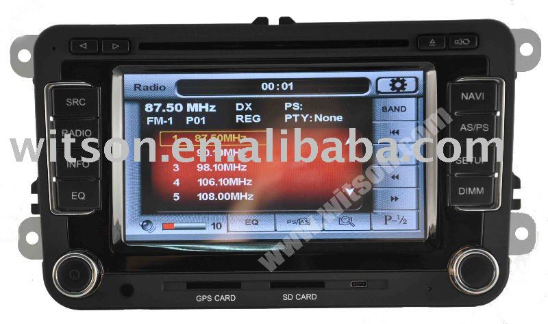 WITSON VW GOLF 6 car dvd player with air conditioner