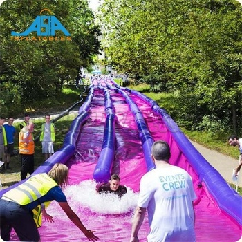 Largest Inflatable Water City Slide for Sale / Inflatable Slip and Slide the City
