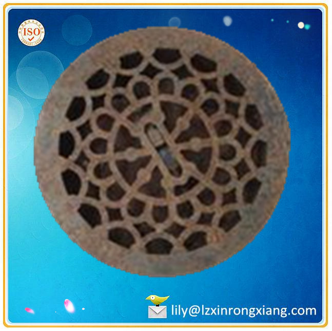 High quality round cast iron grill grates