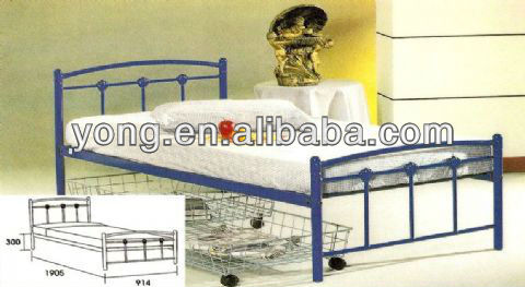 Queen size Designer Antique home platform Metal bed from QDYC