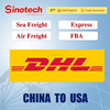 Cheapest price from china to usa(FBA) by DHL,UPS,FEDEX