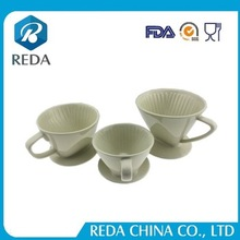 Hot selling trending product good price of professional and environmental ceramic coffee dripper