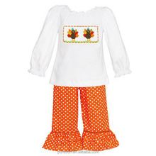 vintage baby clothes 2017 thanksgiving kids turkey applique fall boutique clothing