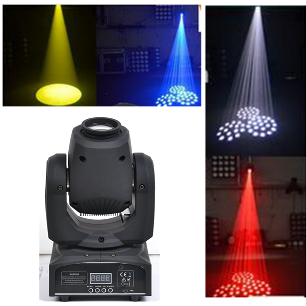 Super Bright <strong>Beam</strong> Moving Head Light High Brightness 25W White LED Spot Light